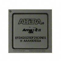 EP2AGX125DF25C6NFPGA(现场可编程门阵列)